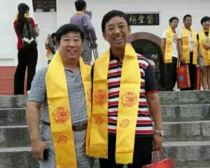 在南阳张仲景学术交流会和李乡状导演,国际经筋联合会执行主席任加峰先生和各位专家